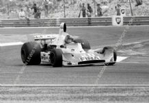 "Williams FW04 Francois Migault French GP 1975. 10x7"" photo"